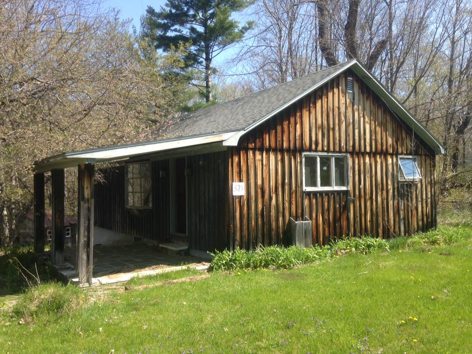 <b>Garage Deconstruction, East Dorset, Vermont - May 2016<b>