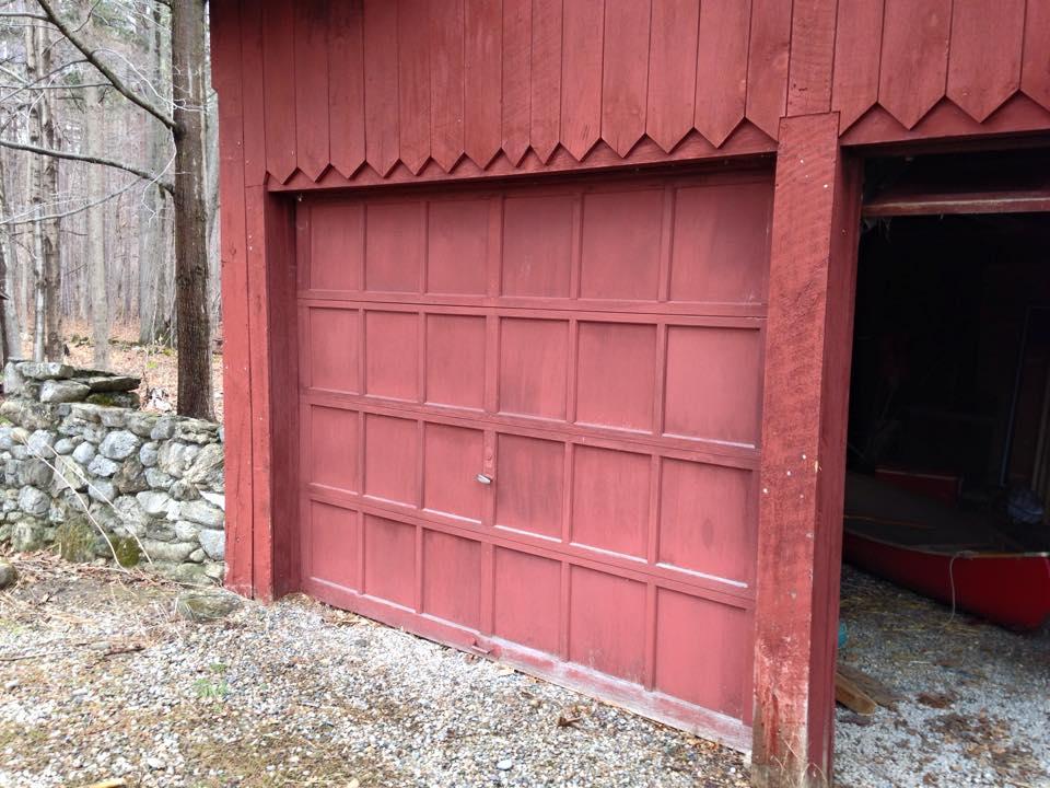 Garage door deconstruction works for How garage door works
